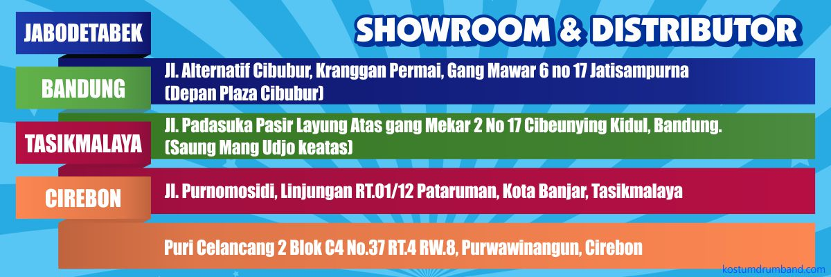 Showroom Kostum Drumband 1