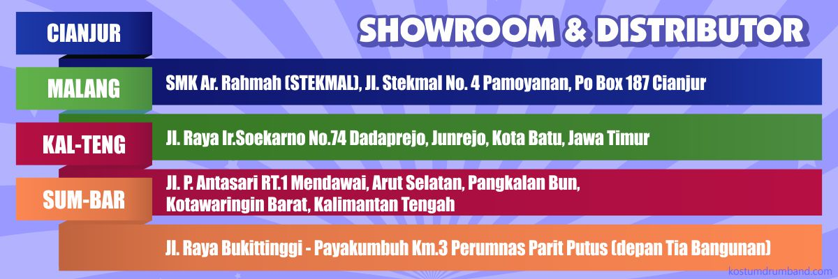 Showroom Kostum Drumband 2